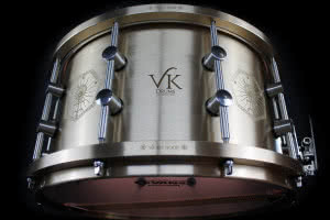 Customowy werbel VK Drums Danny'ego Carey'a