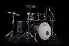 Pearl Masters Maple Reserve Solid Matte Black