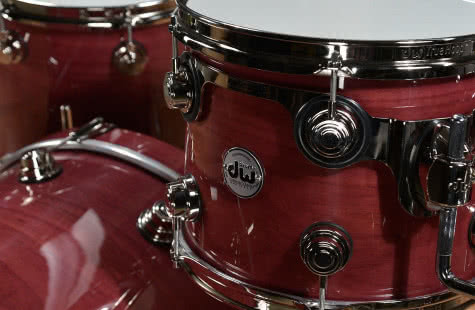 DW Drums Pure Purpleheart