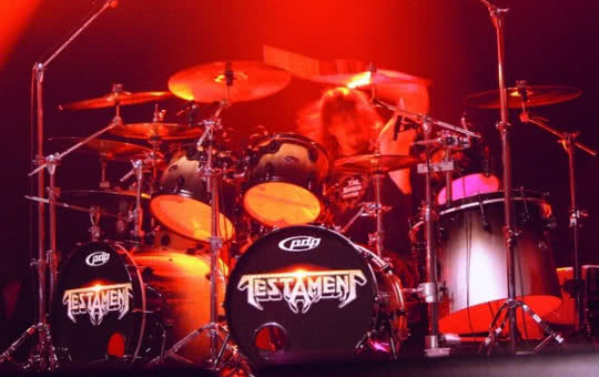 Analiza stylu: Paul Bostaph (Testament)