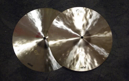 "Dream hi-hat Bliss 12"" i Contact 14"""