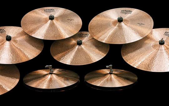 Talerze Paiste 2002 Black Big Beat