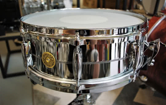 Gretsch Chrome Over Brass G4160